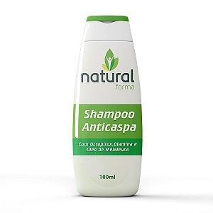 Shampoo Anticaspa com Octopirox Olamina e Óleo de Melaleuca 100ML