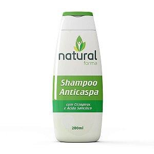 Shampoo Anticaspa com Ciclopirox e Ácido Salicílico 200ML