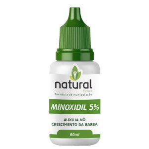 Minoxidil 5% Loção para Barba 60ML