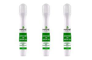 Pague 2 e Leve 3 - Minoxidil em Serum 5% Crescimento das Sobrancelhas
