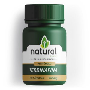 Terbinafina 250MG 30 Cápsulas