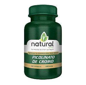 Picolinato de Cromo 200MCG 60 Cápsulas Diminui o apetite por doces e carboidratos