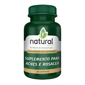 Suplemento para Acnes e Rosacea