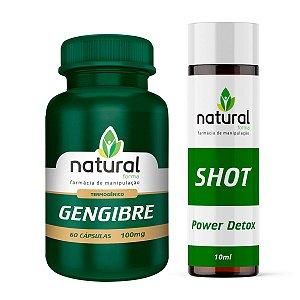 Kit Emagrecimento (Gengibre + Shot Detox)