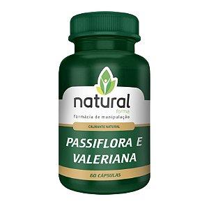 Passiflora + Valeriana (Calmante natural)