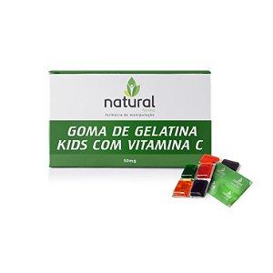 Gomas de Gelatina Kids com Vitamina C 50MG