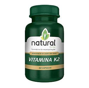 Vitamina K2 60 Cápsulas