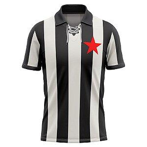 Camisa Retrô Listrada Belo1931 Botafogo-PB Masculina