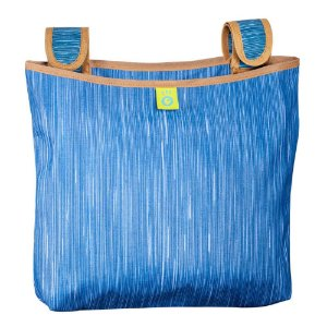 Porta-Treco Organizador para Carrinho de Bebê Blue Jeans