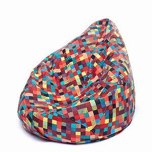 Puff Infantil Tecido Acquablock Coiseteria Coloridex