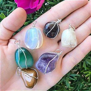 Pingente Pedras Naturais