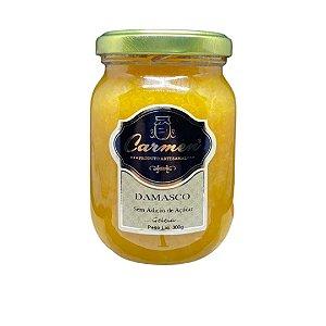 Geleia de Damasco s/ Adição de Açúcar 300g - Doces Carmen