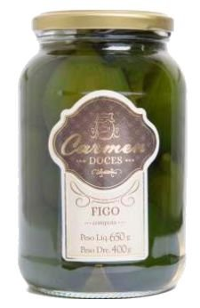 FIGO EM CALDA 650 GR - DOCES CARMEN