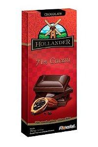 CHOCO HOLLANDER 71% CACAU 90G - UNIDADE