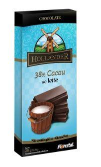 CHOCO HOLLANDER 38% CACAU AO LEITE 20G - UNIDADE