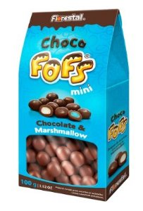 MARSH DRAGEADO CHOCO FOFS MINI 100G  - UNIDADE