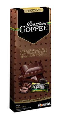 CHOCO BRAZILIAN COFFEE AO LEITE 90G - UNIDADE