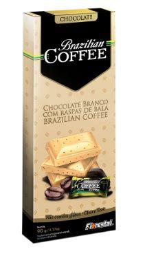CHOCO BRAZILIAN COFFEE BRANCO 90G - UNIDADE