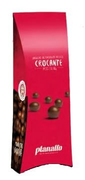 DRAGEA CHOCOLATE AO LEITE CROCANTE PLANALTO 80G