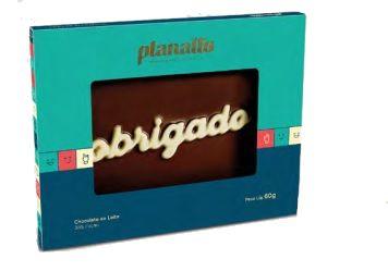 PLACA OBRIGADO PLANALTO 60G - UNIDADE