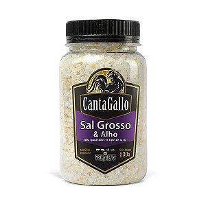 SAL GROSSO E ALHO 600G - CANTAGALLO