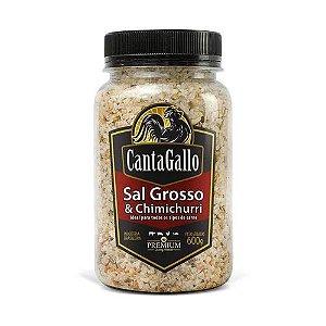 SAL GROSSO E CHIMICHURRI 600G - CANTAGALLO