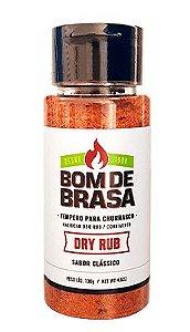 TEMPERO DRY RUB CLASSICO BOM DE BRASA 130G
