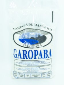 FARINHA DE MANDIOCA 500G - GAROPABA
