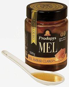 MEL AMBAR CLARO POTE DE VIDRO - 500G