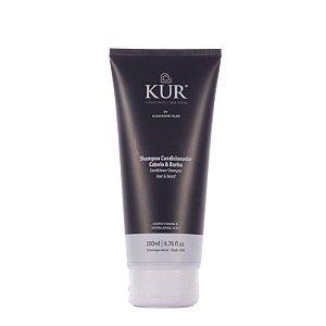 Shampoo Condicionador Cabelo e Barba By Alexandre Taleb - 200ml - Kur