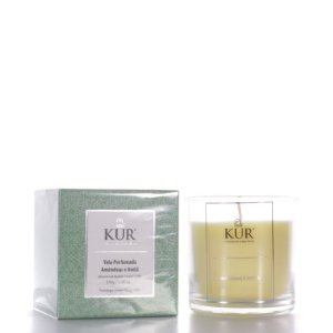 Vela Perfumada de Amêndoas e Óleo de Avelã - 170g - Kur