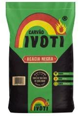 Carvão Acácia Negra Ivoti - 7 Kg - Un.