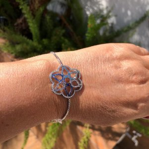 Pulseira Flor Blue