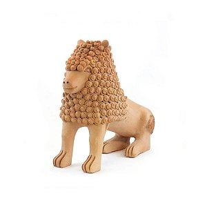 Leão Família Nuca 20cm