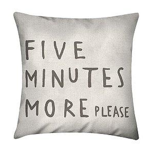 Almofada Five Minutes