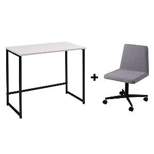 Escrivaninha Broto PB + Cadeira Zoe