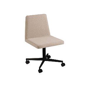 Cadeira Office Zoe Bege