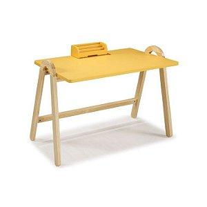 Escrivaninha Suporte Amarela