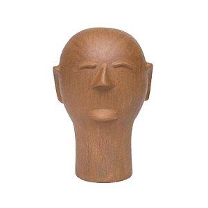 Cabeça de Cerâmica Cida Lima M