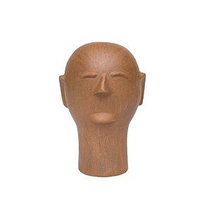 Cabeça de Cerâmica Cida Lima P