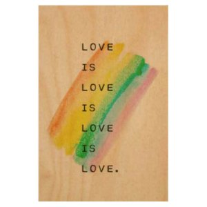 Quadro Love is Love