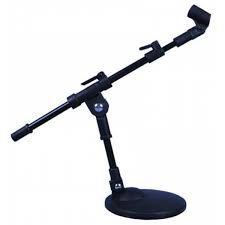 Pedestal de microfone de mesa