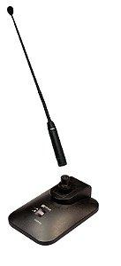MICROFONE GOOSENECK  SUPERLUX PRA 518 AL 60CM COM BASE DS003AS COM CHAVE LIGA/DESLIGA (CABO XLR ESPAGUETE 15M DE BRINDE)