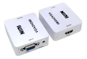 CONVERSOR VGA PARA HDMI (IN VGA - OUT HDMI)