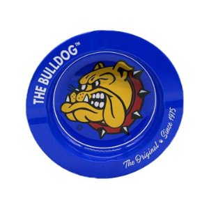 Cinzeiro de Metal The Bull Dog Amsterdam  - Azul