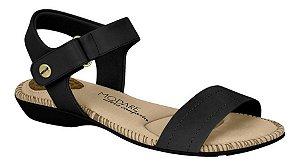 Sandália Modare Napa Sense Flex Preto 7025350