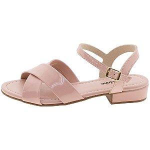 Sandália Molekinha Verniz Premium Rosa 2318101