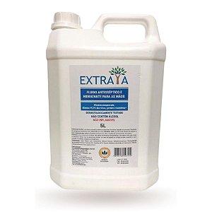 Fluido Antisséptico e Hidratante para as Mãos 5L Extraya - Substitui o álcool em gel e Não é Inflamável - FX5L