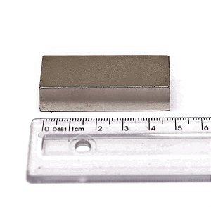 Imã Neodímio N35 Bloco 50x20x10 mm