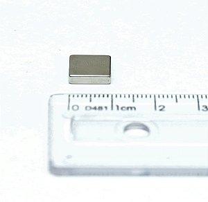 Ímã Neodímio N35 Bloco 10x10x3 mm